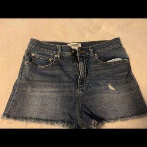 🔥Victoria Secrets PINK! denim shorts.
